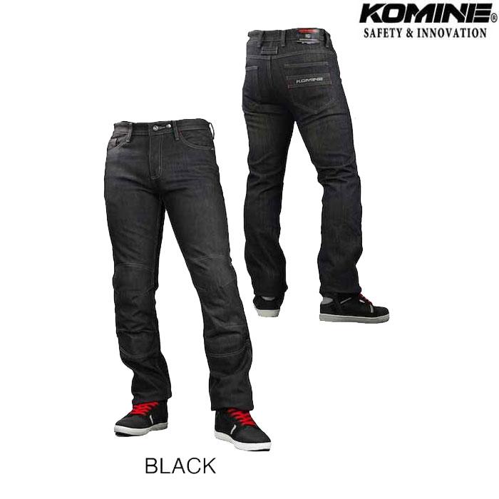 komine WJ-932R プロテクトウインドプルーフウォームジーンズ ブラック◆全2色◆