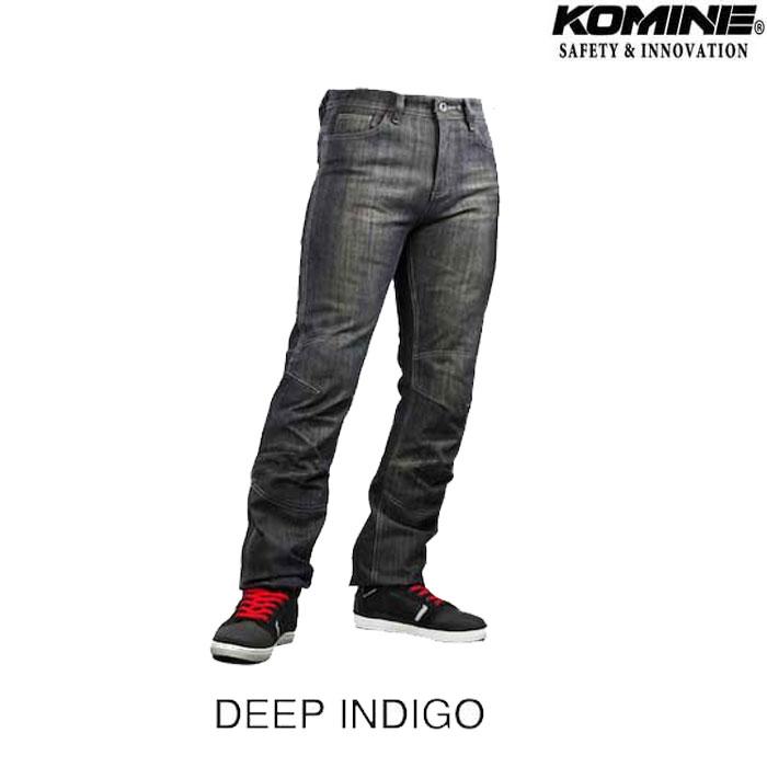 komine WJ-932R プロテクトウインドプルーフウォームジーンズ ディープインディゴ◆全2色◆