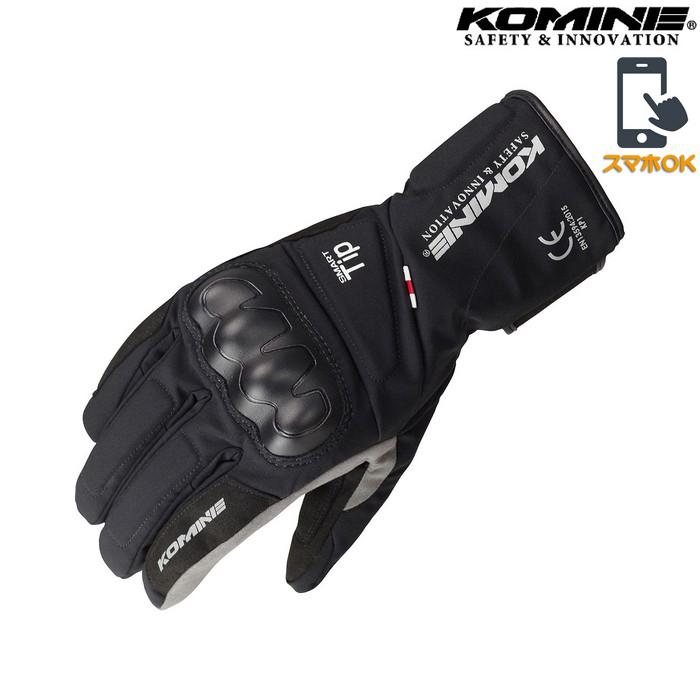 GK-827 CEプロテクトウインターグローブ 透湿防水 防風 防寒 保温 スマホ対応 ブラック ◆全3色◆