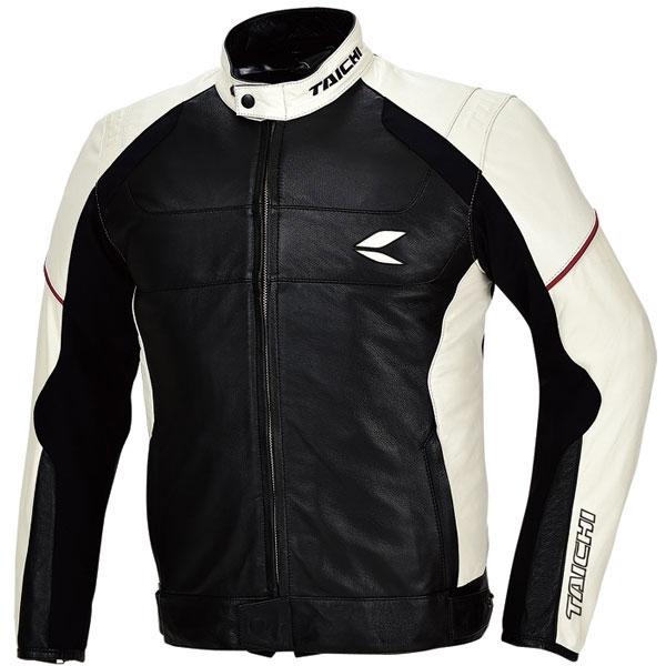アールエスタイチ 【WEB限定】RSJ705 ブロンクスレザー オールシーズンジャケット ブラック/アイボリー 3XL 防寒防風 アウトレット
