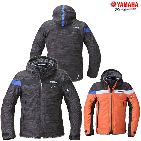 YAMAHA 【WEB限定】YAF54K《YAMAHA×クシタニ》 Moto ウィンターフードジャケット 防寒 防風