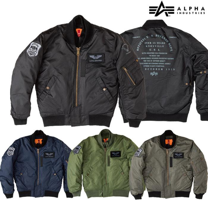 ALPHA MA-1 M/C ウィンタージャケット ALVA1811W