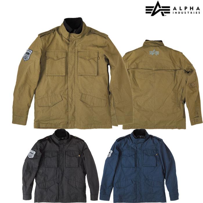 ALPHA 【WEB限定】ALVA-1812W M-65 COTTONジャケット 防寒 防風