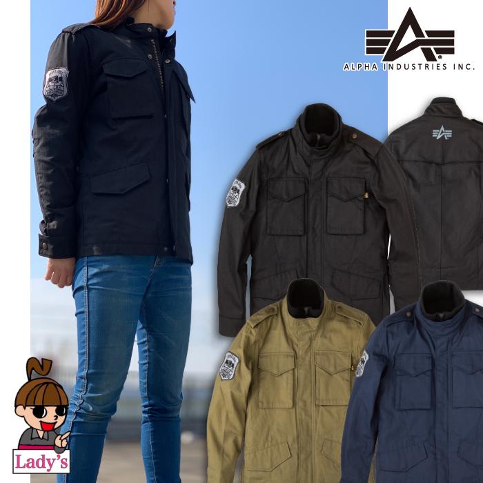 【通販限定】【レディース】ALVA-1812W M-65 COTTONジャケット 防寒 防風