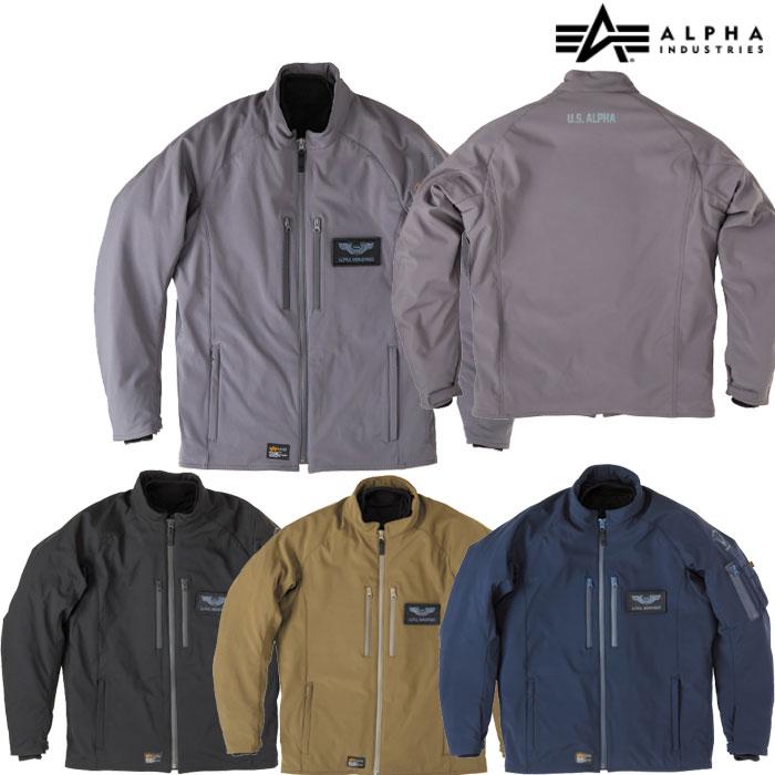 ALPHA 【WEB限定】ALVA-1813W タクティカルW/Pジャケット 防寒 防風
