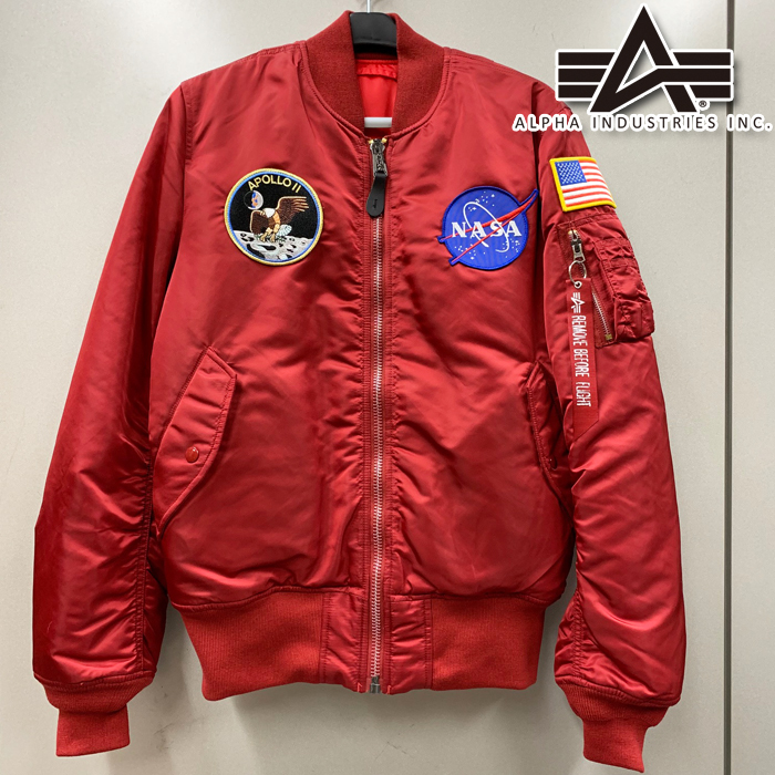 ALPHA 【WEB限定】TA0113-201 MA-1 TIGHT APOLLO C.RED