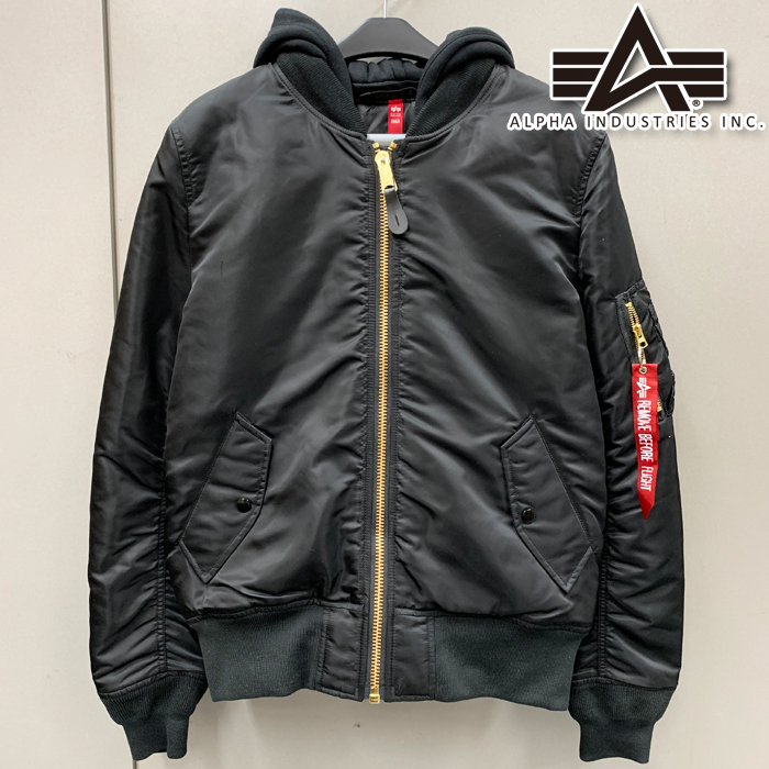 ALPHA 【通販限定】ALTA0130-201 MA-1 NATUS BLACK