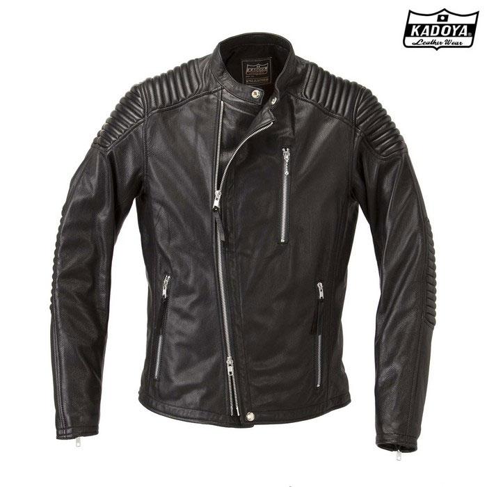 KADOYA 1188 FENNEL(フェンネル) レザージャケット ブラック ◆全3色◆