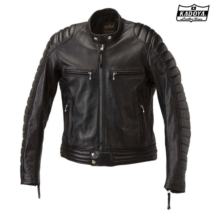 KADOYA 1189レザージャケット SR-ORIGIN 『SRオリジン』 ブラック◆全2色◆
