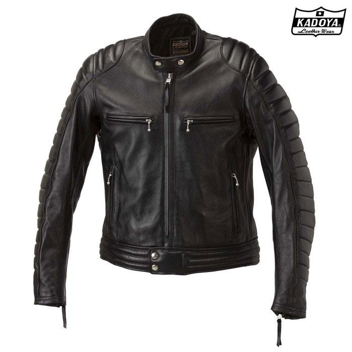 KADOYA 1189(大きいサイズ) レザージャケット SR-ORIGIN 『SRオリジン』 ブラック◆全2色◆