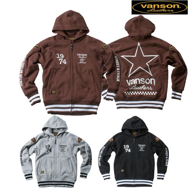 VANSON 【通販限定】VS18402W フーディージャケット 防寒 防風 保温