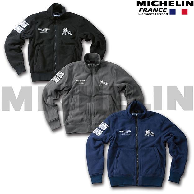 Michelin 【WEB限定】ML18401W FLEECE JACKET 防寒 防風 インナージャケット