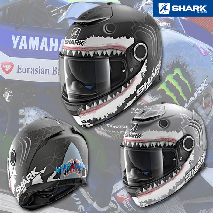 SHARK 〔WEB価格〕SPARTAN  LORENZO Shark《ホルヘ・ロレンソ シャーク》 フルフェイスヘルメット