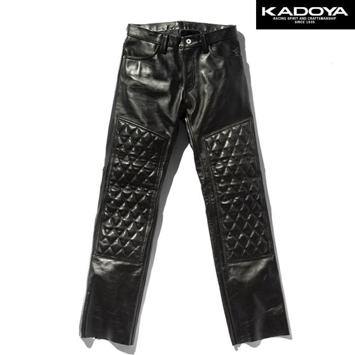KADOYA 〔WEB価格〕【大きいサイズ】 EVO-PANTS 2 レザーパンツ