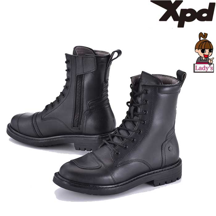 XPD 【レディース】XPN025 XPD X-NASHVILLE ライディングブーツ