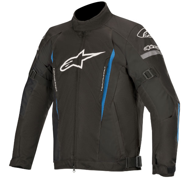 alpinestars 【アウトレット】通販限定在庫限り! GUNNER V2 WP JACKET ジャケット BLACK BRIGHT BLUE