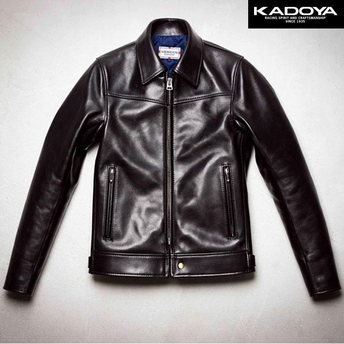 KADOYA 〔WEB価格〕【受注生産】 【大きいサイズ】 TROPHY-0 シングルレザージャケット