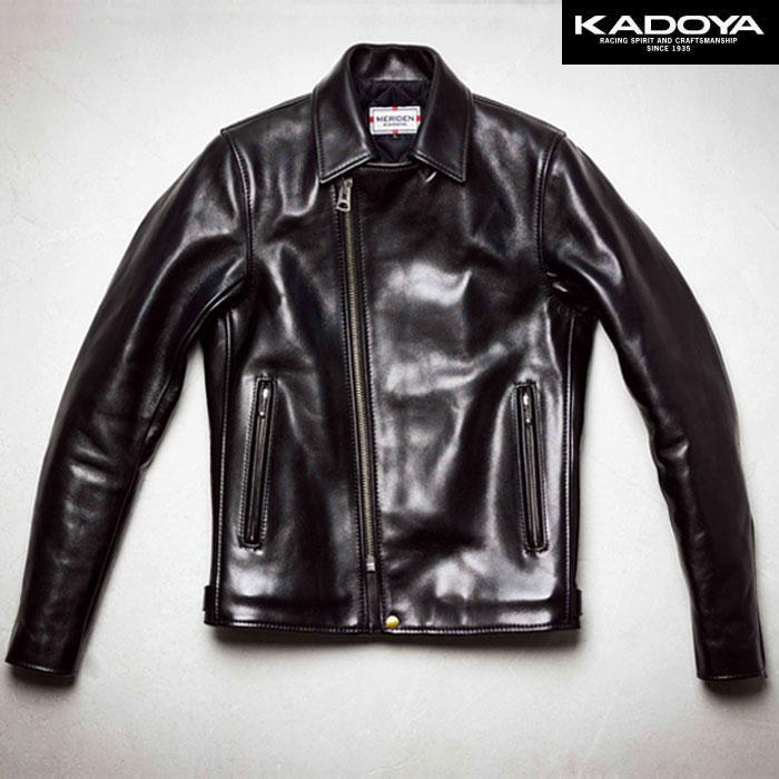 KADOYA 〔WEB価格〕【受注生産】 【大きいサイズ】 BONNY/MODEL-0 ダブルレザージャケット