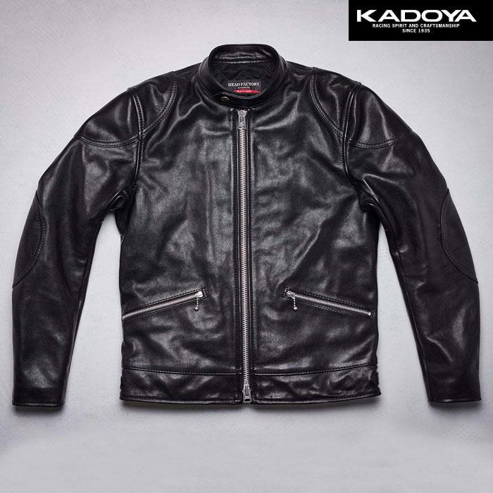 KADOYA 〔WEB価格〕【受注生産品】 Ad9R レザージャケット『アドナインR』