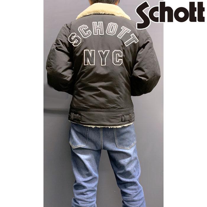 SCHOTT 【WEB限定・残り1点!】SCHOTT URBAN B-3 JK 09 防寒 防風 アウトレット