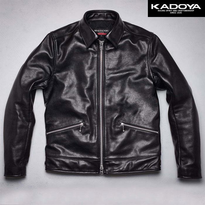 KADOYA 〔WEB価格〕【受注生産品】 【大きいサイズ】 Ad9 レザージャケット『アドナイン』