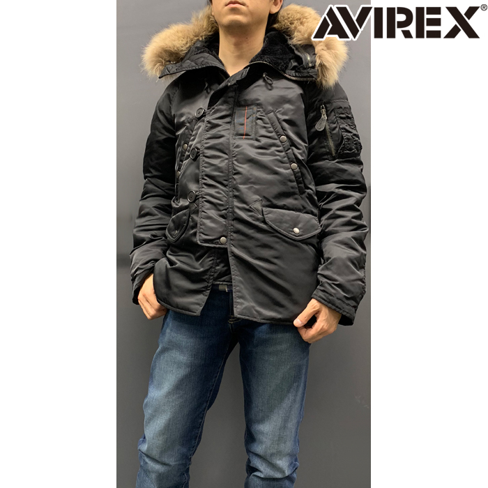 AVIREX 【WEB限定】AVI NEW N-3B TIGHT Sサイズ 防寒 防風 アウトレット