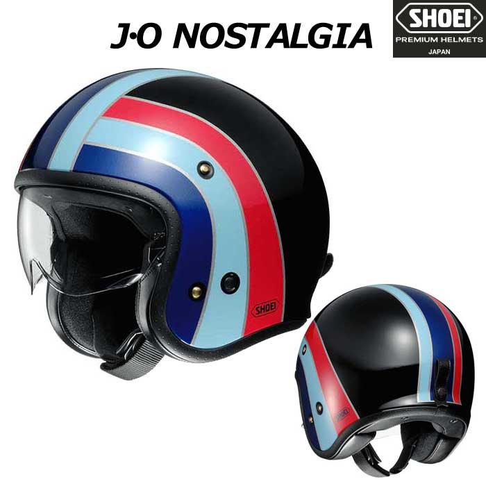 SHOEI ヘルメット 【2019年3月発売予定】J・O NOSTALGIA【ノスタルジア】 ジェットヘルメット