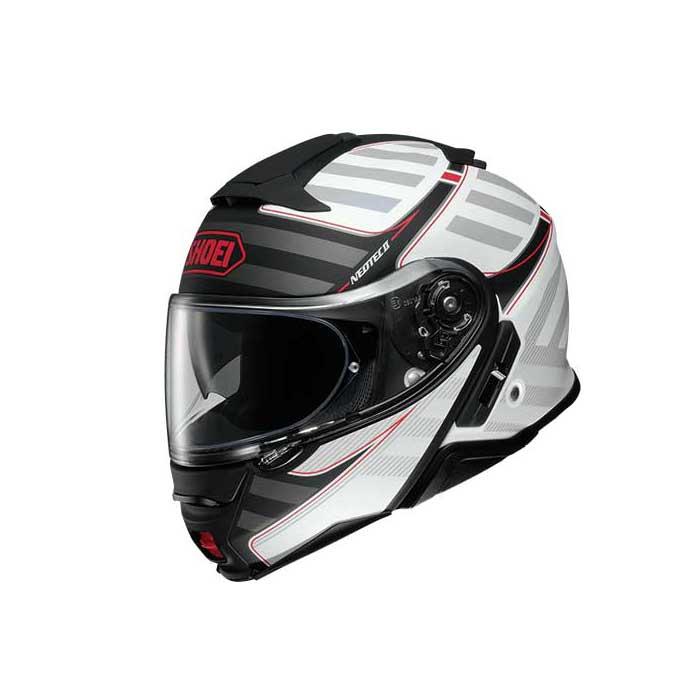 SHOEI ヘルメット (個別配送のみ 他商品との同梱配送不可)NEOTEC II SPLICER【ネオテック ツー スプライサー】 システムヘルメット TC-6 (ホワイト/ブラック) マットカラー
