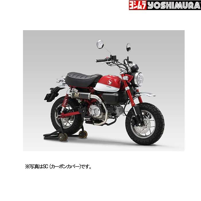 YOSHIMURA JAPAN 【お取り寄せ】Slip-On GP-MAGNUMサイクロン EXPORT SPEC 政府認証 Monkey125〔決済区分:代引き不可〕