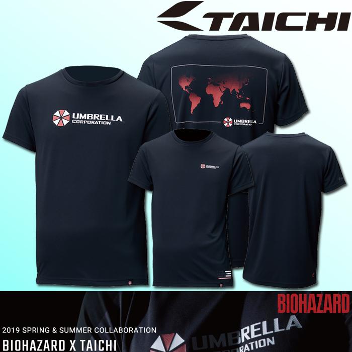〔WEB価格〕RSU310 クールライド ドライ Tシャツ BIOHAZARD(バイオハザード) 春夏用