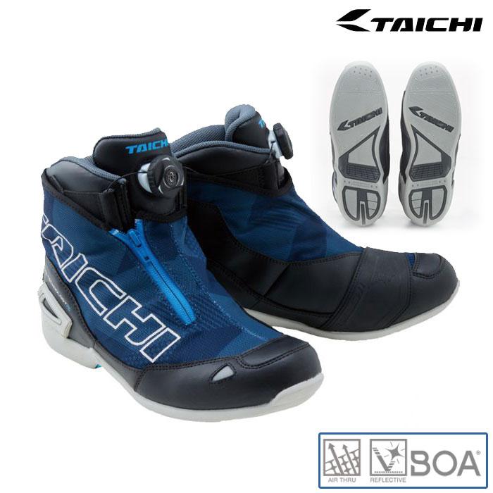 〔WEB価格〕RSS008 Boaラップエアーライディングシューズ スニーカー 靴 メッシュ 春夏用 スラッシュネイビー ◆全4色◆