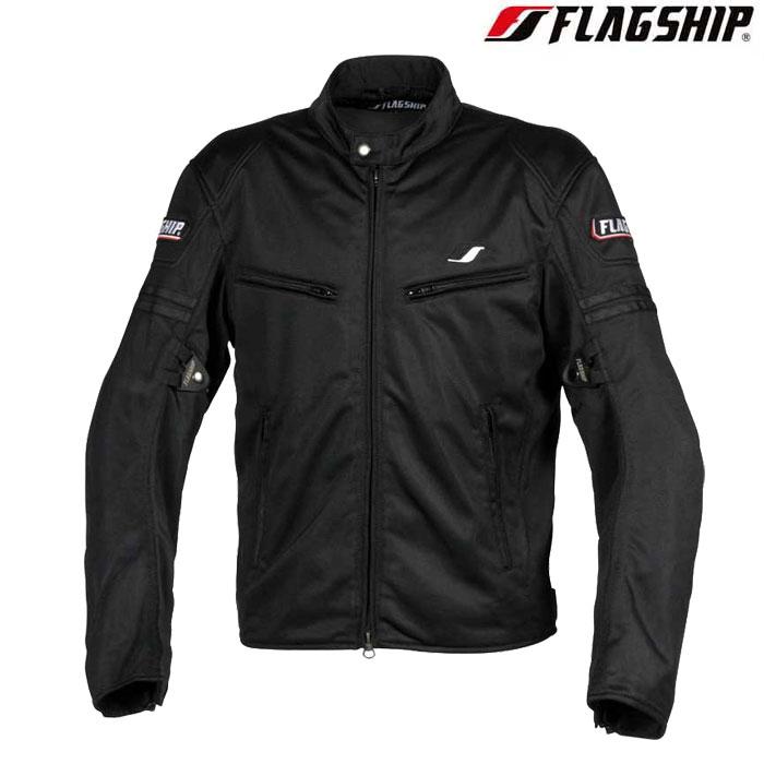 Flagship 〔WEB価格〕FJ-S195 スマートライドメッシュジャケット ブラック 春夏用◆全6色◆