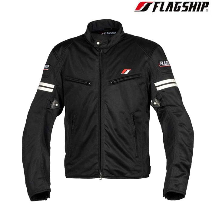 Flagship 〔WEB価格〕FJ-S195 スマートライドメッシュジャケット ホワイト 春夏用◆全6色◆