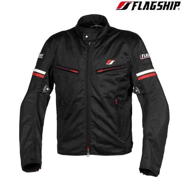 Flagship 〔WEB価格〕FJ-S195 スマートライドメッシュジャケット レッド 春夏用◆全6色◆