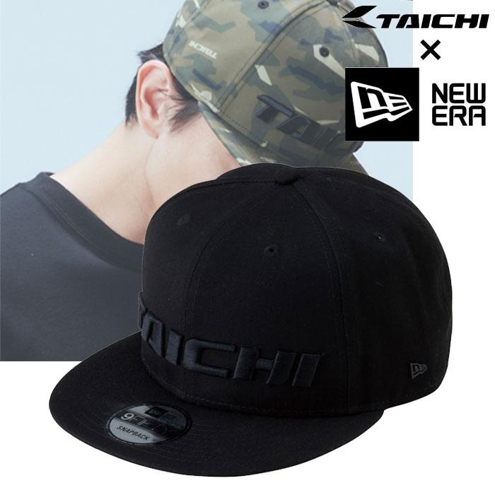 アールエスタイチ NEC001 TAICHI×NEWERA 9FIFTY CAP(ニューエラ) キャップ オールブラック◆全3色◆