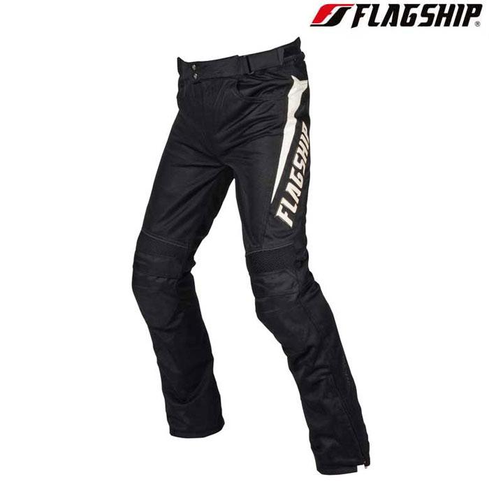 Flagship 〔WEB価格〕FMP-S191 エアーライドパンツ ブラック/ホワイト 春夏用◆全2色◆