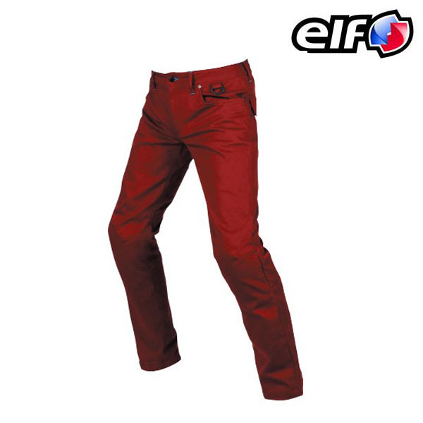 elf ELP-9221 コンフォートストレッチパンツ レッド ◆全4色◆