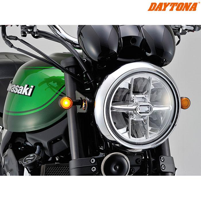 DAYTONA 98952 LEDウインカーD-LIGHT SOL アンバーレンズ