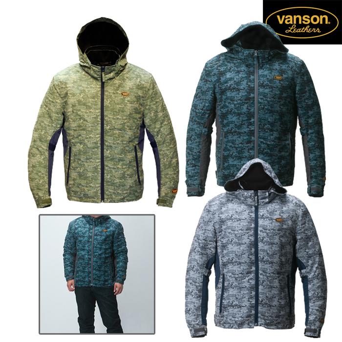 VANSON 【WEB限定】VS18108W ナイロンジャケット ウインター/秋冬/デジカモ