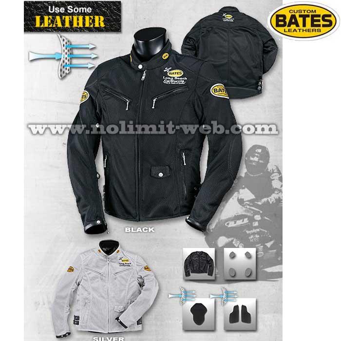 BATES BSP-1 2Wayメッシュ&レザージャケット(防風インナージャケット付き)