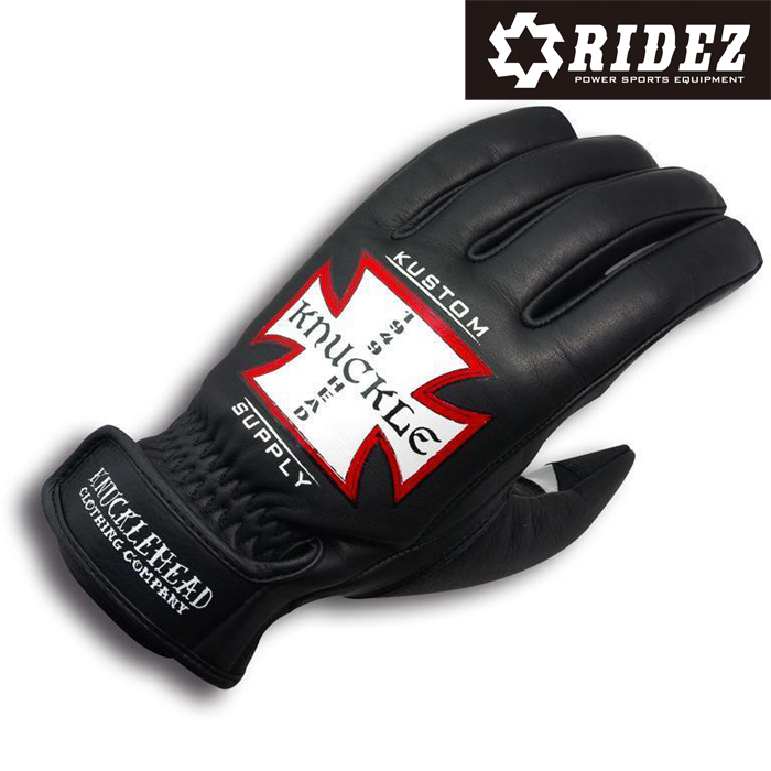 RIDEZ KGK2703 KNUCKLEHEAD WILDCAT GLOVE Kustomcross 3シーズン/グローブ