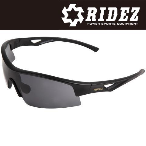 RIDEZ 【WEB限定】RS4192 サングラス M.BK M.BK SM 花粉対策/アウトドア/スポーツ/ツーリング/サイクリング/ランニング