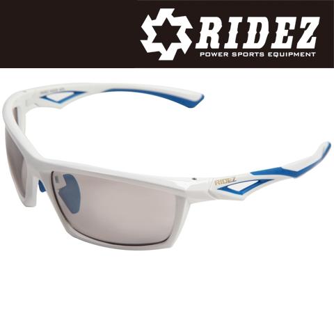 RIDEZ 【通販限定】RS5267 サングラス S.WH S.WH SILMIR 花粉対策/アウトドア/スポーツ/ツーリング/サイクリング/ランニング