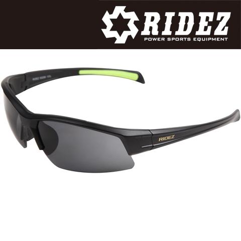 RIDEZ 【WEB限定】RS4244 サングラス M.BK M.BK SM 花粉対策/アウトドア/スポーツ/ツーリング/サイクリング/ランニング
