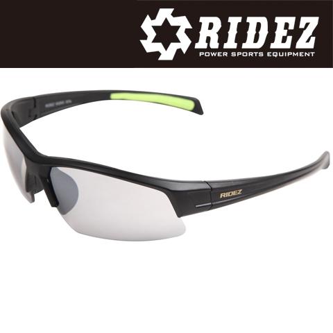RIDEZ RS4244 サングラス M.BK M.BK SILMIR 花粉対策/アウトドア/スポーツ/ツーリング/サイクリング/ランニング