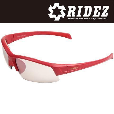 RIDEZ 【WEB限定】RS4244 サングラス M.RED M.RED SILMIR 花粉対策/アウトドア/スポーツ/ツーリング/サイクリング/ランニング