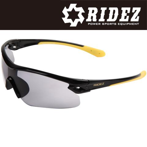 【通販限定】RS4237 サングラス S.BK S.BK  M.YE SM スモーク 花粉対策/アウトドア/スポーツ/ツーリング/サイクリング/ランニング