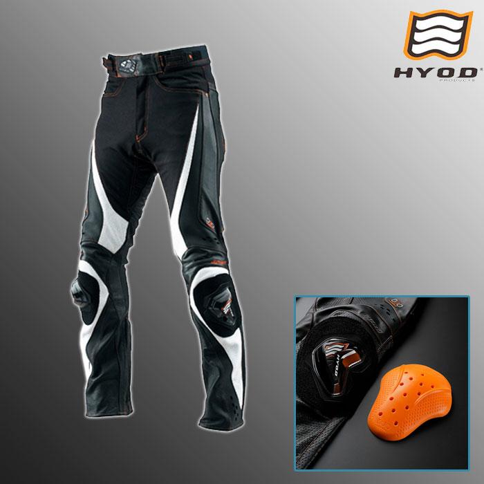 HYOD PRODUCTS HSP710DN ST-X D3O MESH PANTS(STRAIGHT) メッシュ パンツ ストレート 春夏用 ブラック/ホワイト◆全3色◆