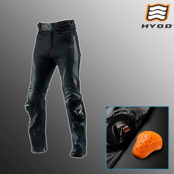 HYOD PRODUCTS HSP710DN ST-X D3O MESH PANTS(STRAIGHT) メッシュ パンツ ストレート 春夏用 ブラック/オレンジステッチ◆全3色◆