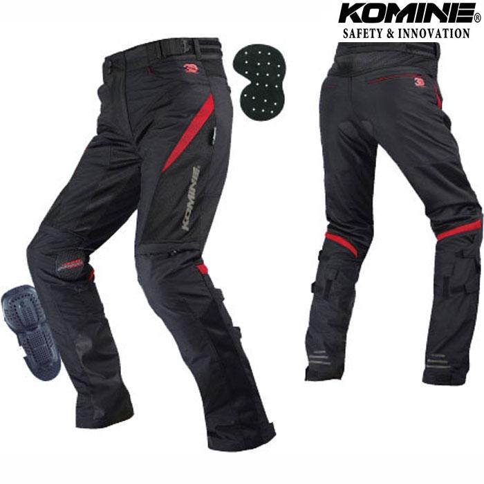 komine 〔WEB価格〕【大きいサイズ】 PK-729 プロテクトライディングメッシュパンツ 3D